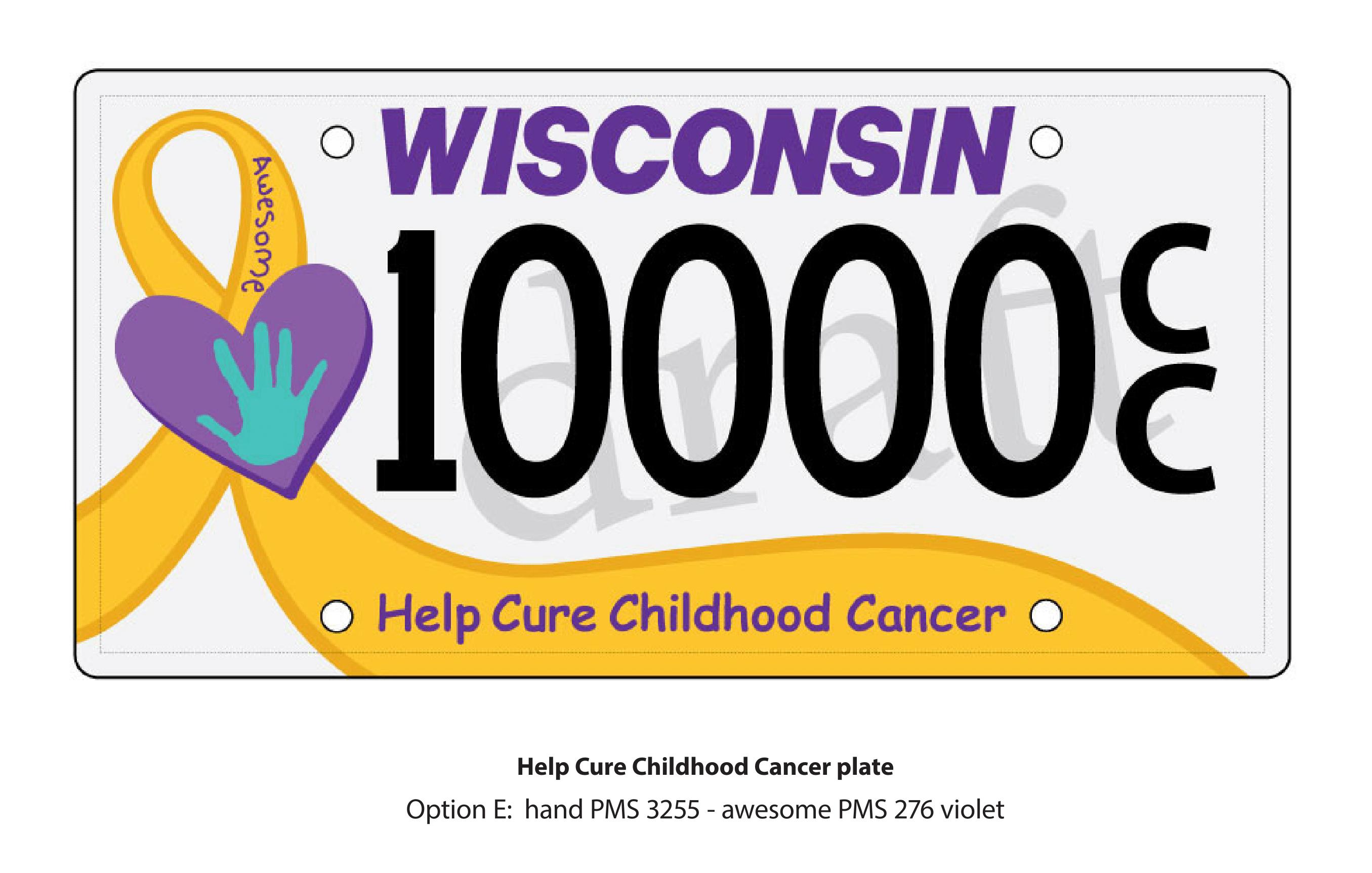 MACC Fund License Plate