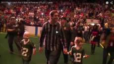 2011 Aaron Rodgers Pack Lunch – Fox 6 Special Feature
