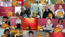 2011 MACC Fund Kids Enjoy Aaron Rodgers Helmet
