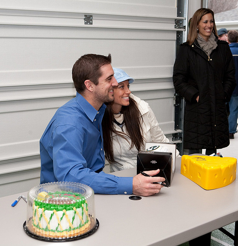 2010 Pack Lunch With Aaron Rodgers