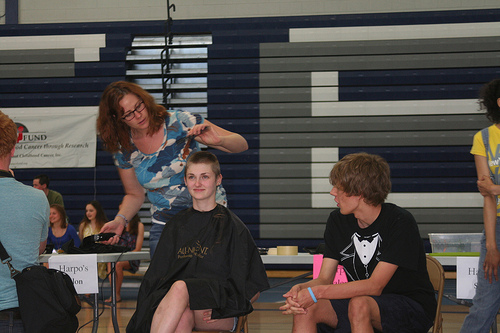 BuzzCuts For Cancer – Whitefish Bay High School