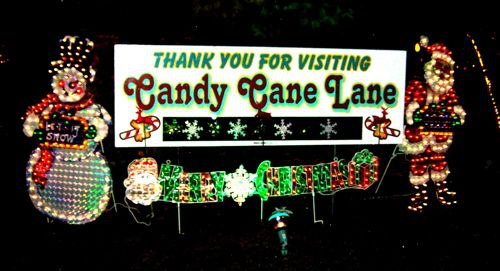 Thirty-five Years Of Holiday Lights Provide Hope On Candy Cane Lane