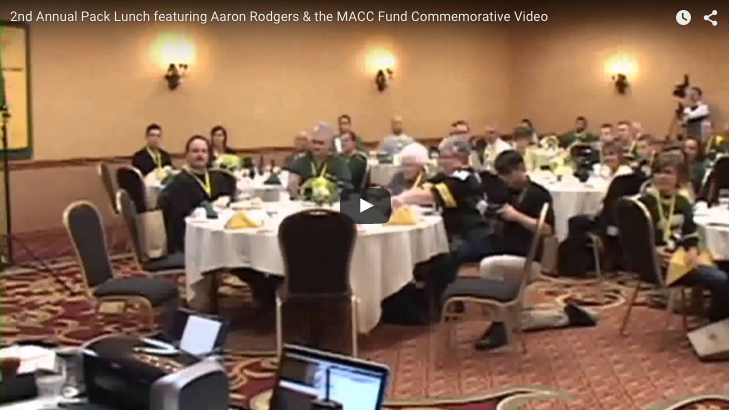 2011 Pack Lunch With Aaron Rodgers – Event Video