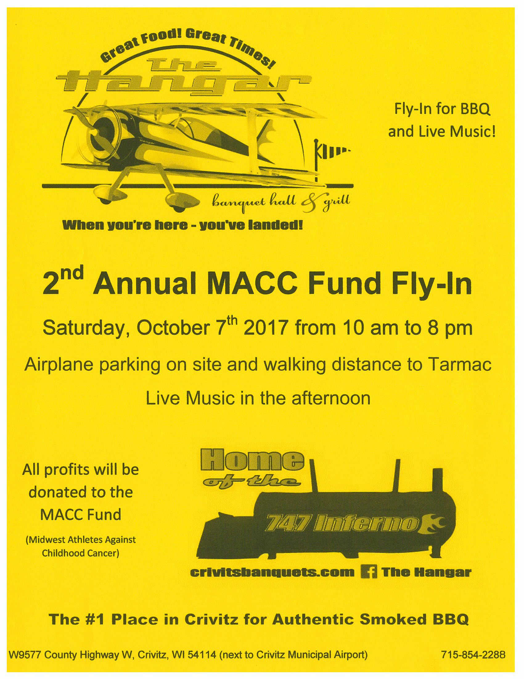 2nd Annual MACC Fund Fly-In