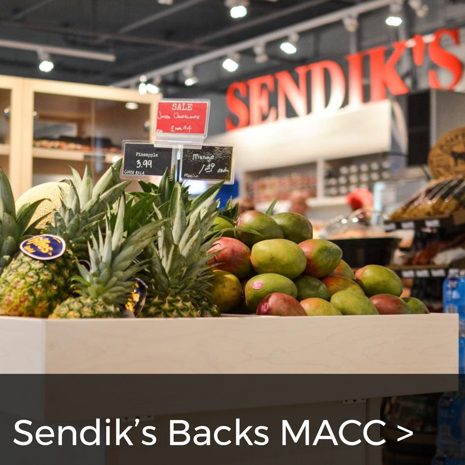 Sendik's Backs MACC