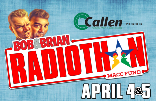 On The Air With Bob & Brian: Radiothon 2019