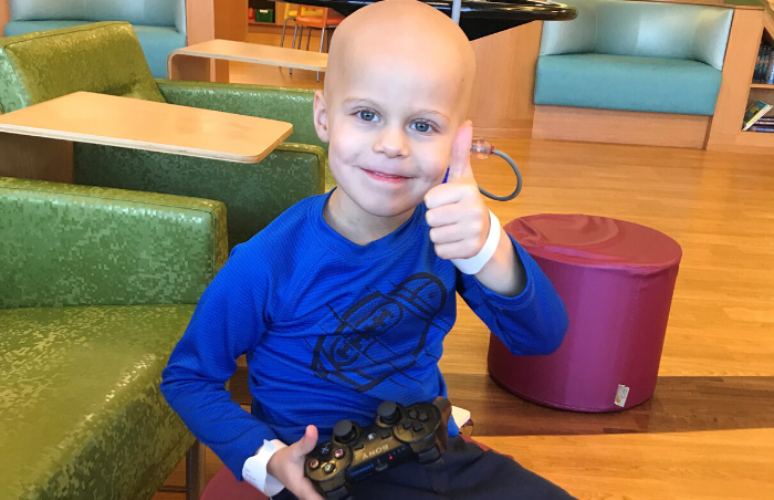 Four Year Old Dylan's Fight With Burkitt's Lymphoma
